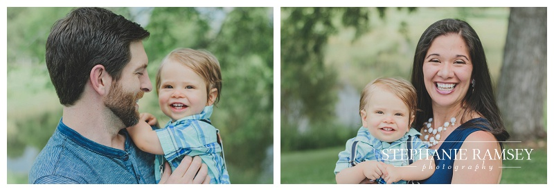 Family Photography Denver Colorado one year old